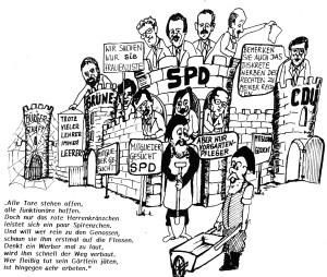 SPD Mitgliederwerbung, Erwin Fiege 06/1988