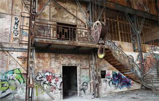 Südzentrale Treppe Maschinenhalle