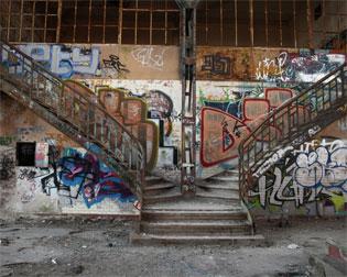 Südzentrale Treppenaufgang