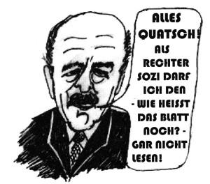 Karikatur Neumann