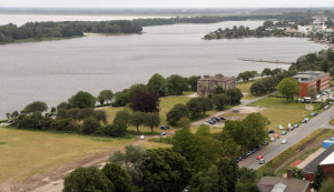 Luftaufnahme Banter See